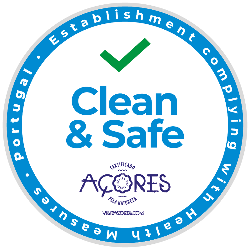 Clean and Safe certificate Açores